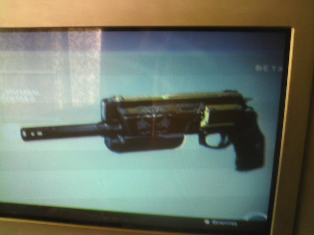 legendary Hand Cannon 2 by madmick2299