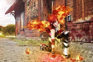 The Firehawk 3 by Smikimimi