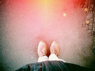 Fall under my feet