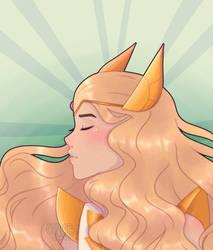 She-Ra [SPEEDPAINT] by glumeycat