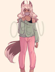 [CLOSED ADOPTABLE] Almond - 10$ |paypal only| by glumeycat