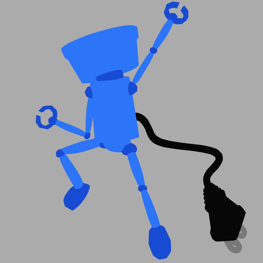 Chibi-Robo - Azul by mrSandman8