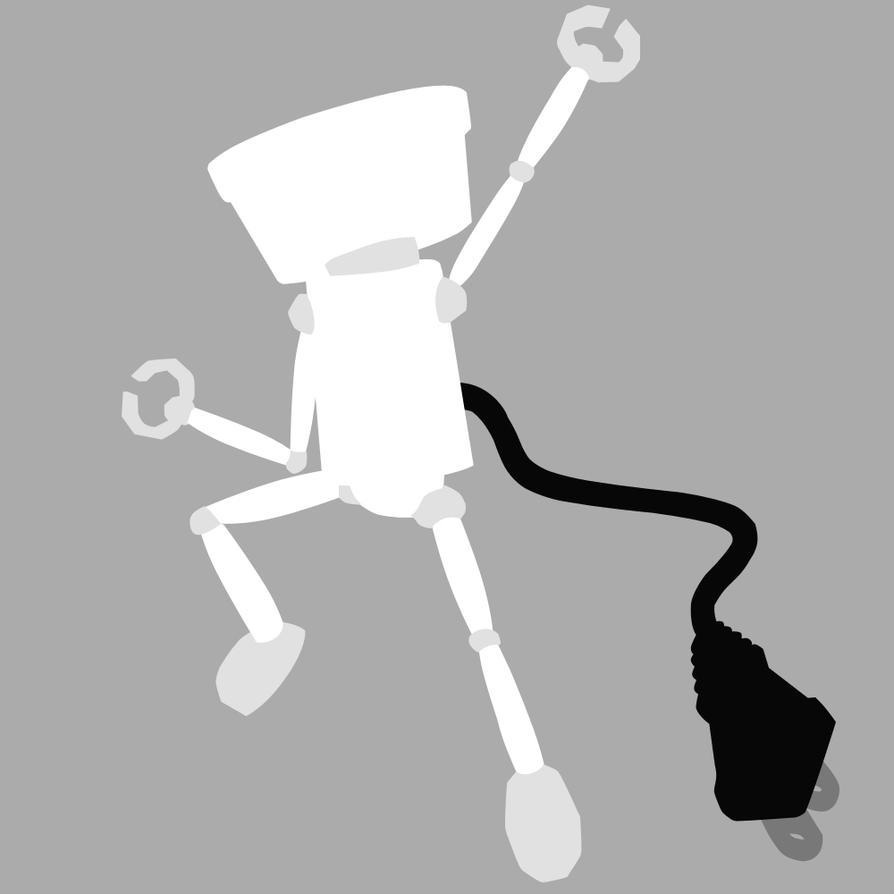 Chibi-Robo - Blanco by mrSandman8