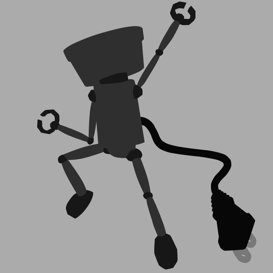 Chibi-Robo - Negro by mrSandman8