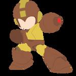 Mega Man - Marron