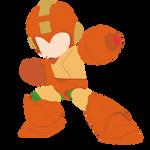 Mega Man - Naranja
