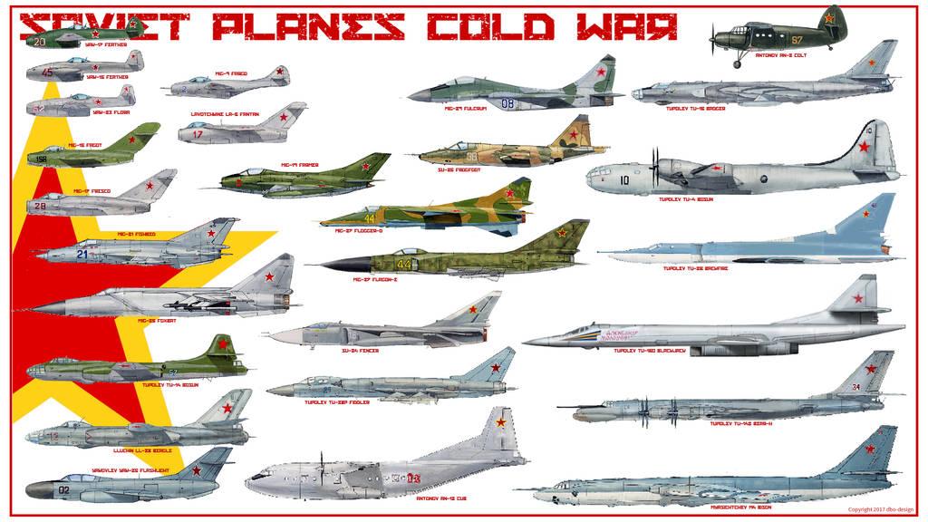 soviet cold war planes