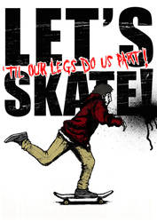 let's skate by eink
