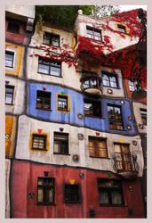 Hundertwasser House by Molvania