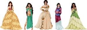 Disney Princesses, part 2