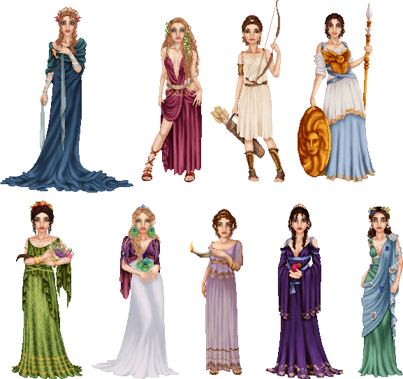 Ancient Greek Gods Greek And Roman Names Favourites By