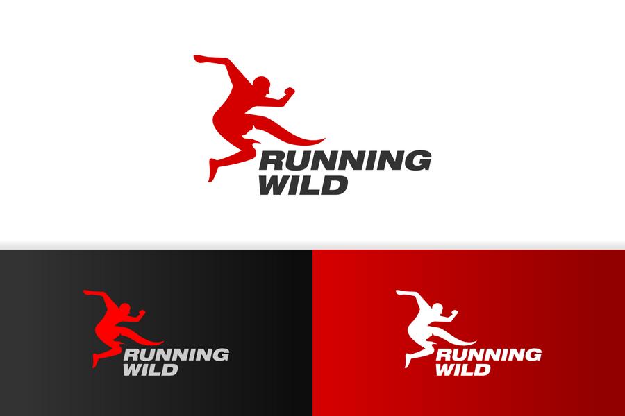 Running logo designs