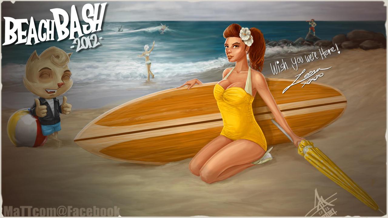 Beach Bash Leona by MaTTcomGO