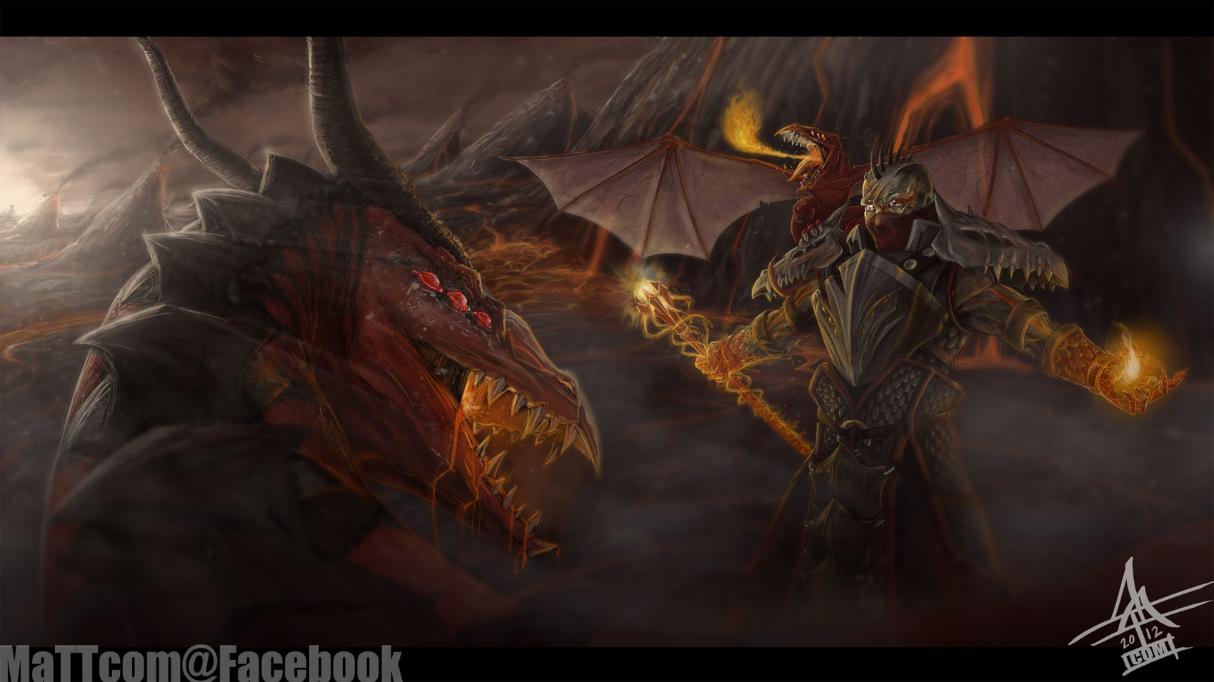Dragon Master Swain by MaTTcomGO