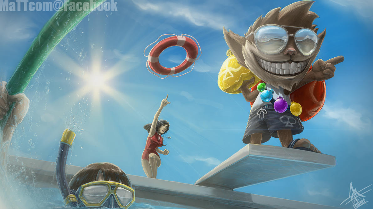 Pool Party Ziggs In Game