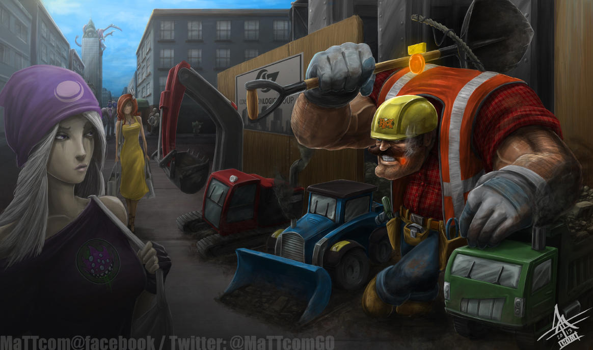 Construction Worker Yorick by MaTTcomGO ...