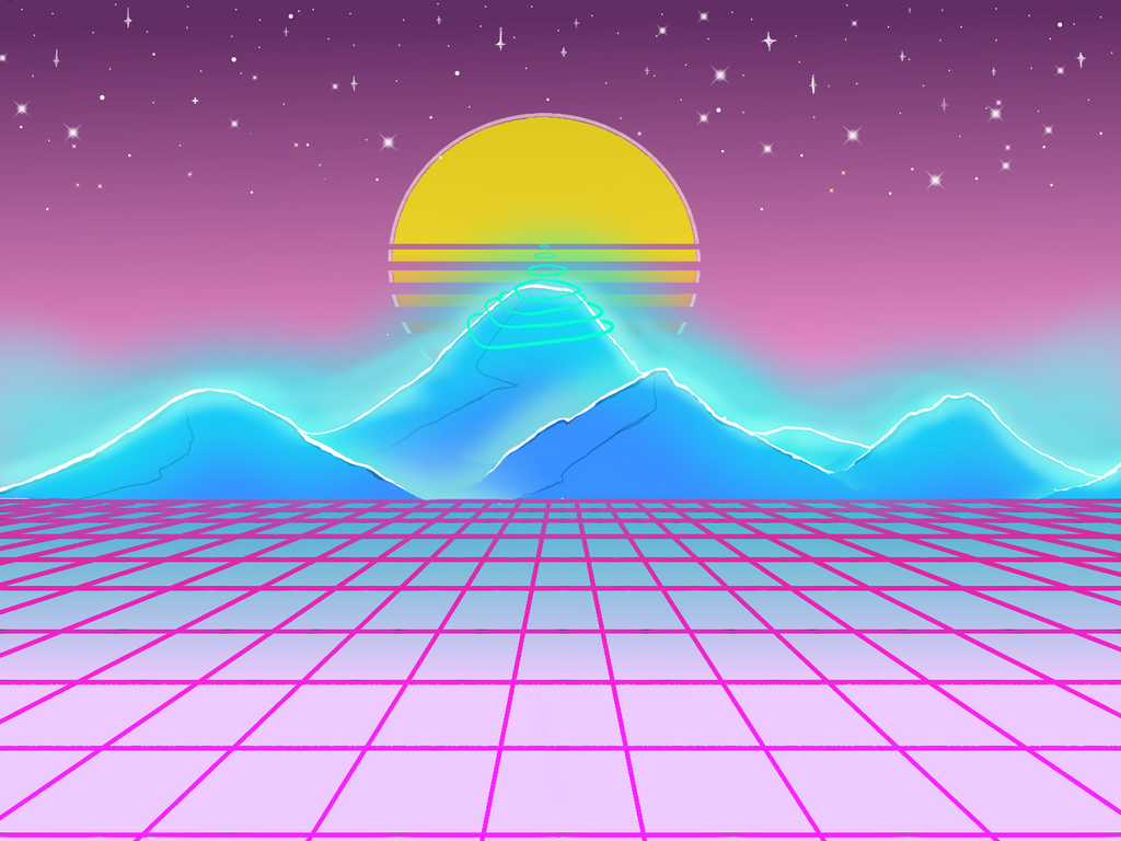 Great Wallpaper Mountain Aesthetic - v_a_p_o_r_w_a_v_e___aesthetic_mountains_by_rayed_the_pleb-dbf0bz7  Gallery_255698.png