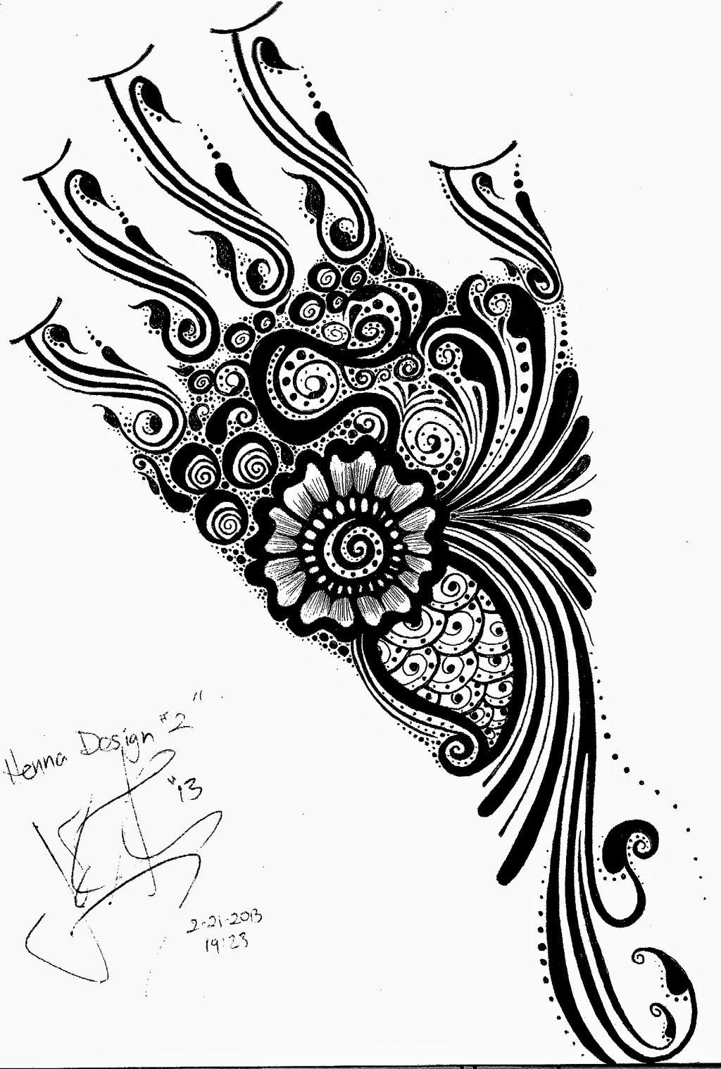 Mehndi Design Line Art : Full hand henna design by jjshaver on deviantart