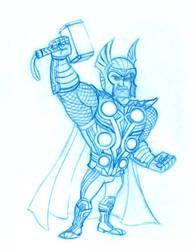 Thor (Avengers Part 1) by Hen-Hen