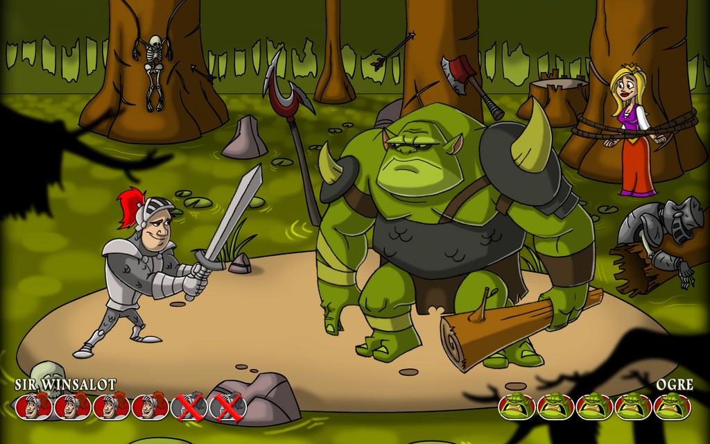 Winsalot vs Ogre by Hen-Hen