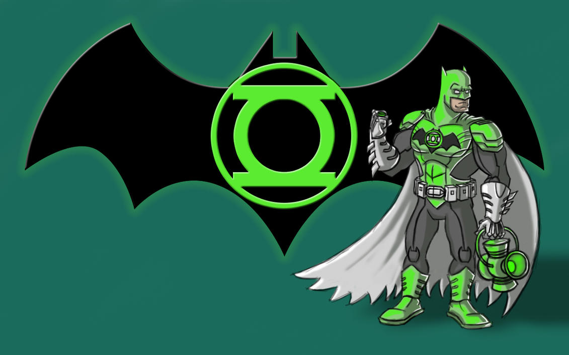 Green Lantern Batman by Hen-Hen