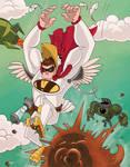 Da Chicken Man Colors by Hen-Hen