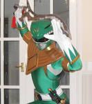 Power rangers green cosplay