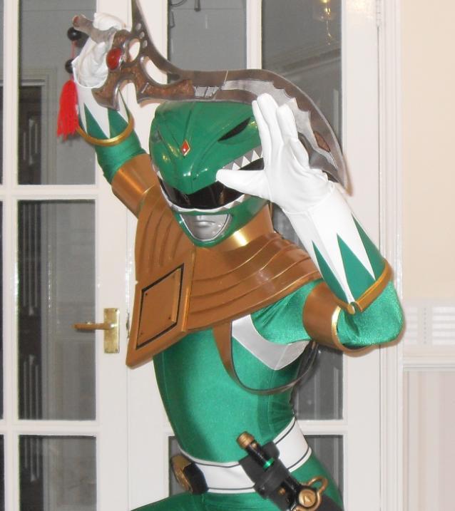 Power rangers green cosplay by matt3335