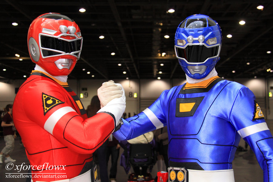 Turbo rangers cosplay by matt3335