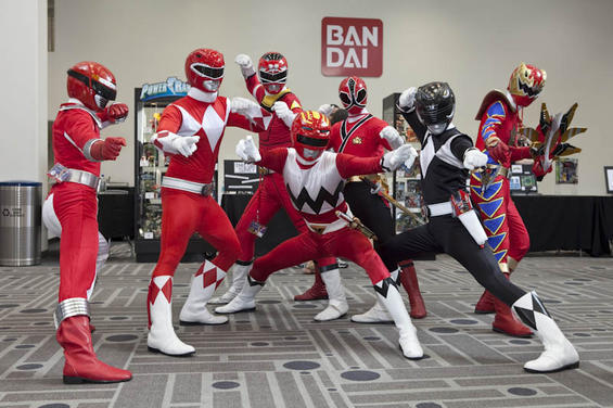 power morphicon lot of rangers by matt3335