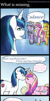 What is missing -Comic-