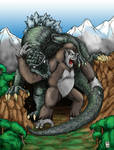 King Kong vs. Godzilla Ver1
