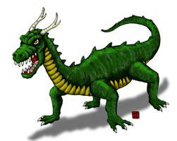 KC - Skull Island Dragon by hawanja