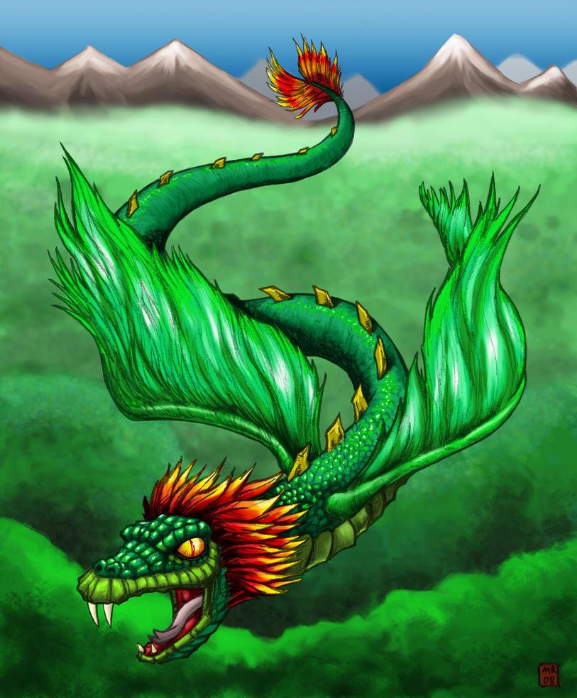Quetzalcoatl by hawanja on DeviantArt