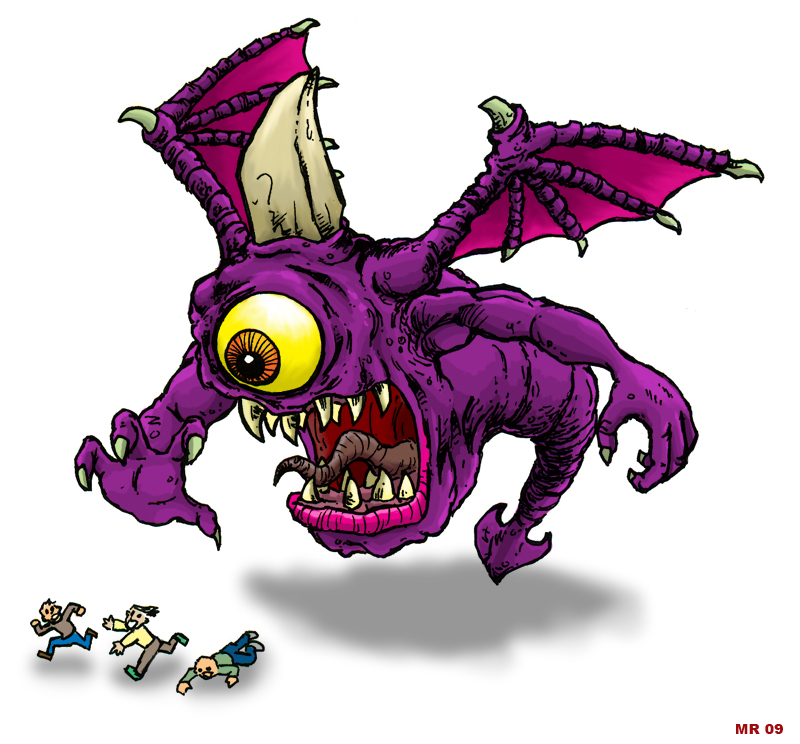 Purple People Eater — Crafthubs