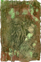 The Litany of Dagon - scroll by hawanja