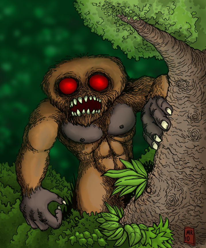 MoMo - Missouri Monster by hawanja