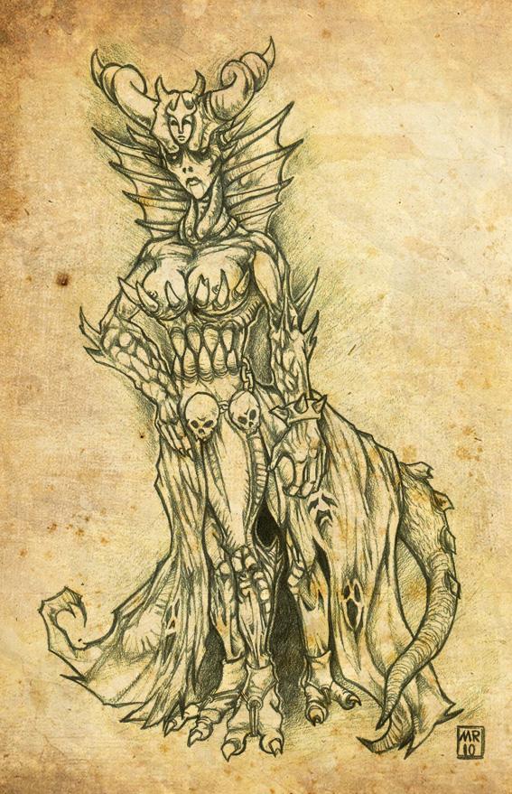Naamah  queen of demons by  Naamah