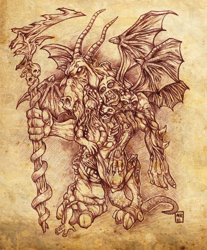 Azazel, lord of Impurity by hawanja