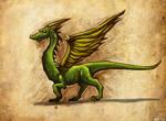 Felidade Dragon by hawanja