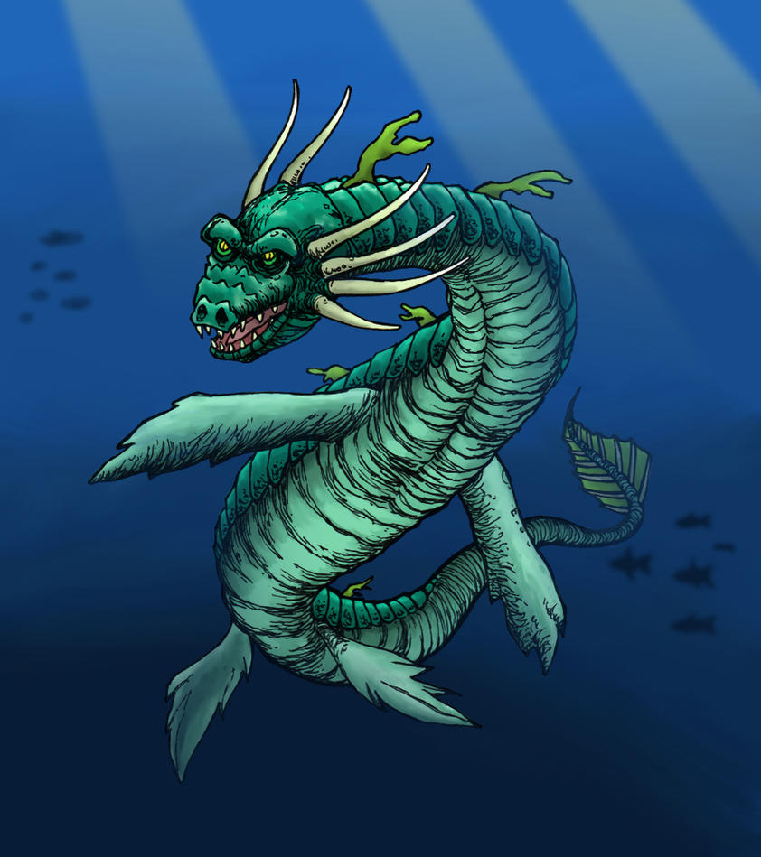 Sea Dragon by hawanja on DeviantArt