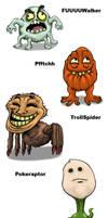 Monsterous Rage Faces