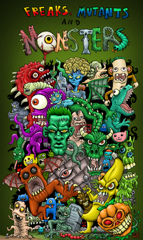 Freaks, Mutants, and Monsters banner image