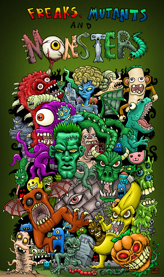 Freaks, Mutants, and Monsters banner image by hawanja