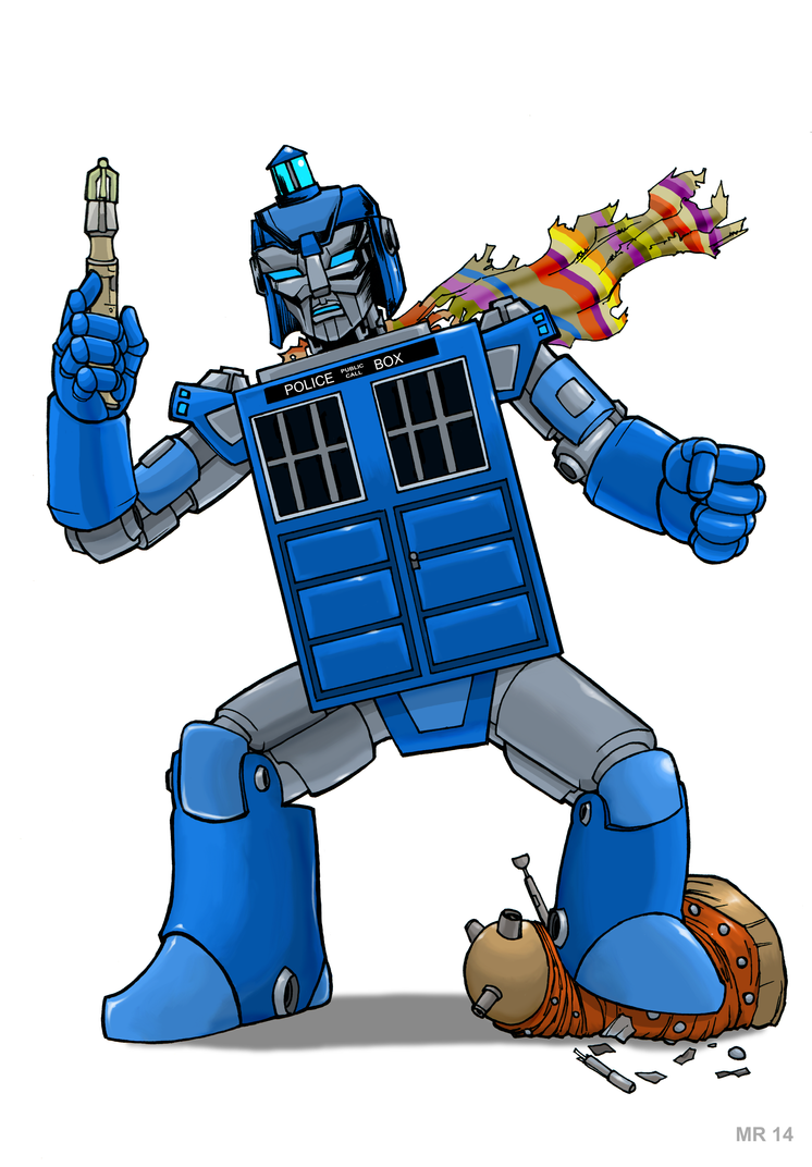 Tardis Autobot by hawanja