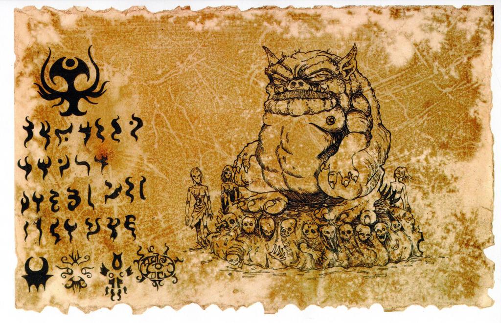 The Codex Tsathoggua 02 by hawanja