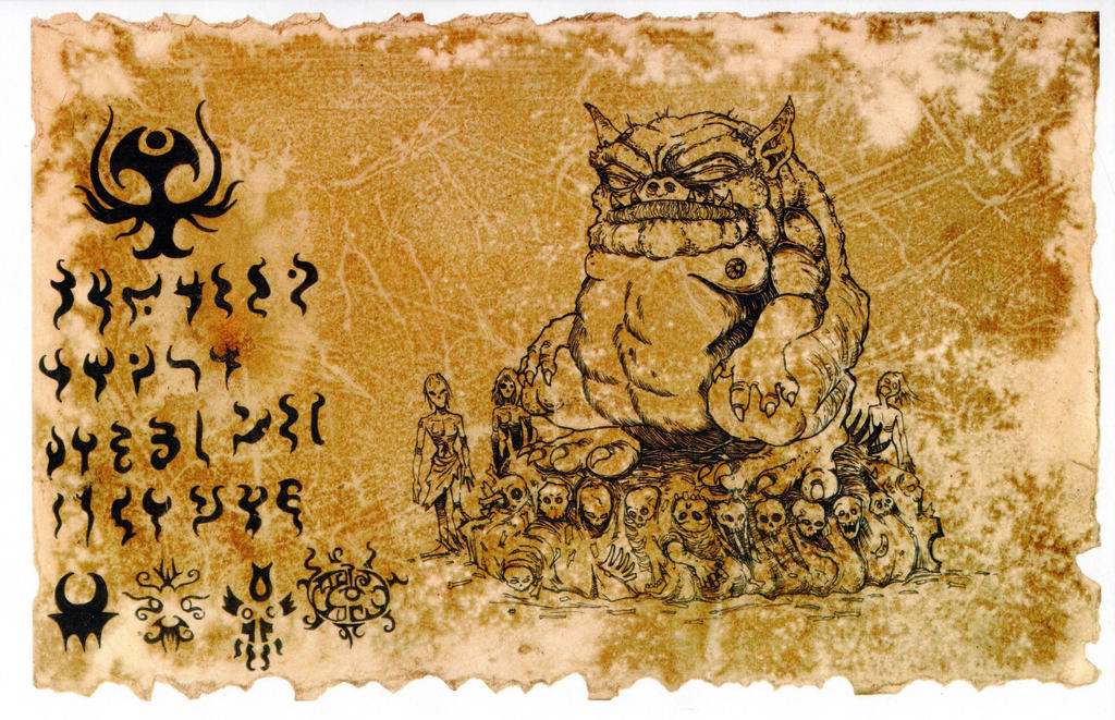 The Codex Tsathoggua 02 by hawanja on DeviantArt