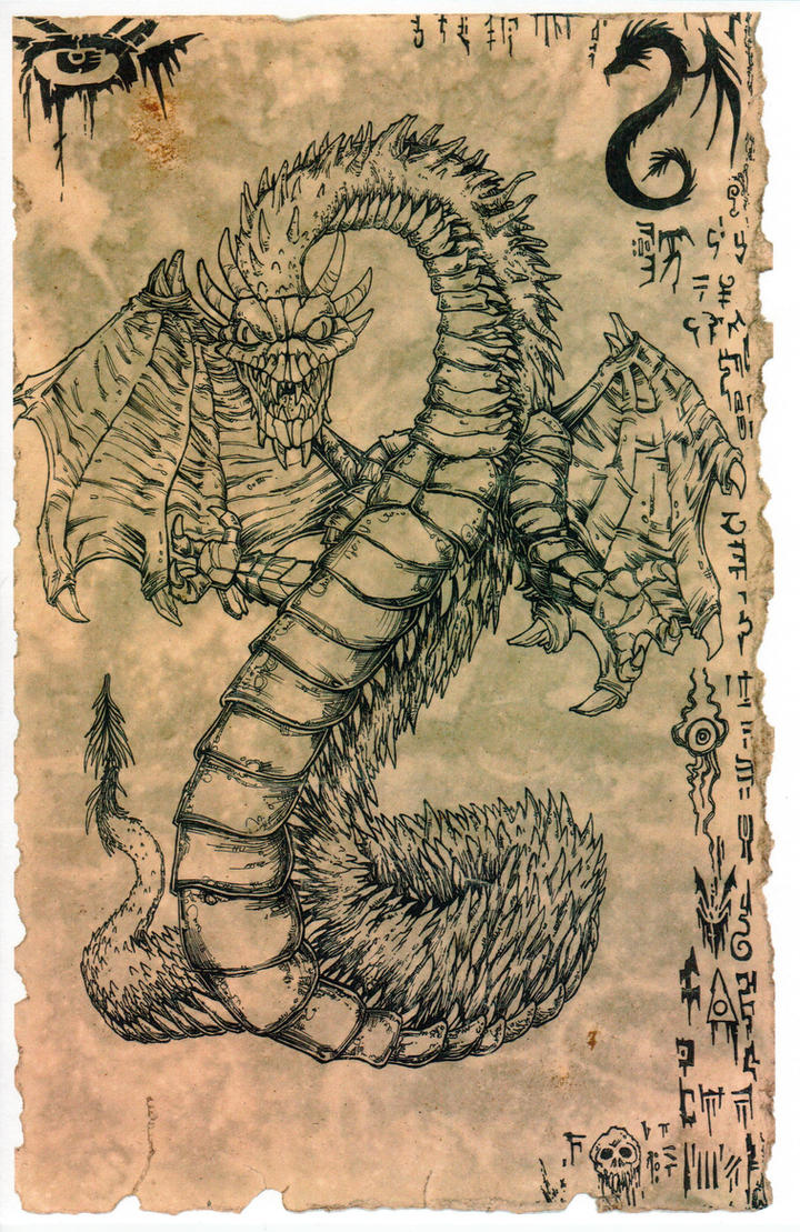 Yig, the Father of Serpents by hawanja