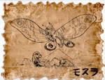Mothra Scroll