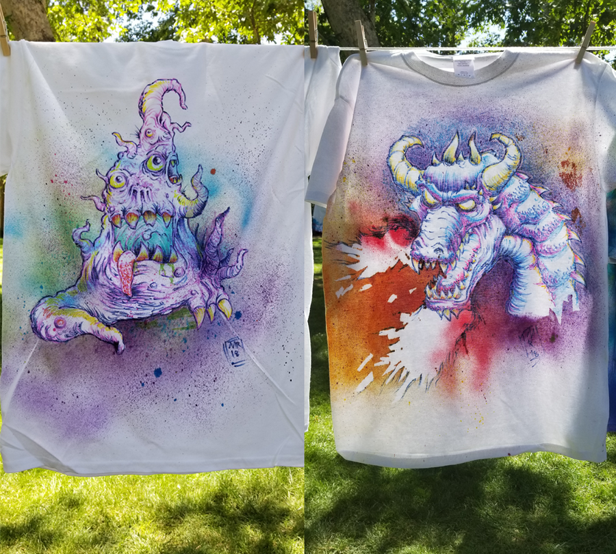 Monster T-Shirts by hawanja